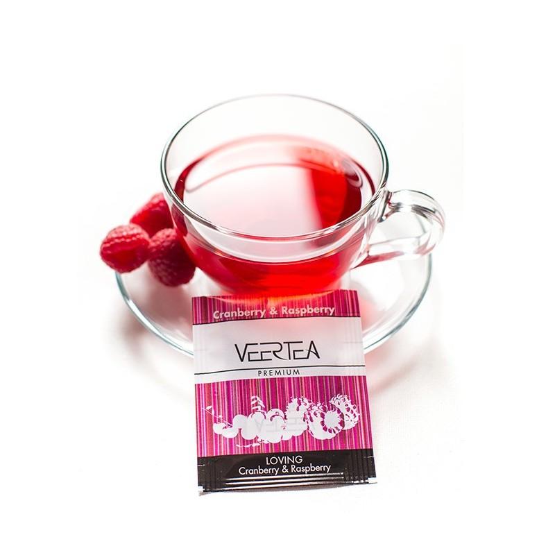 herbata owocowa malina z żurawiną do biura